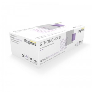 Unigloves Stronghold Nitrile GM006 Examination Gloves